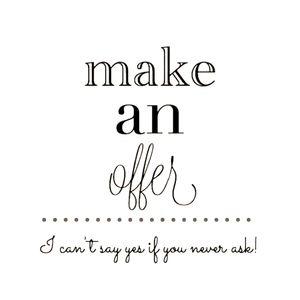 Make an offer in my closet!